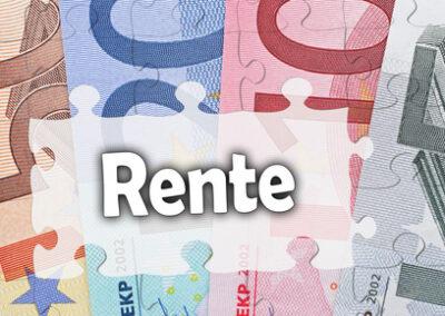Änderung der Steuervorteile in der Rürup-Rente ab 01.01.2012
