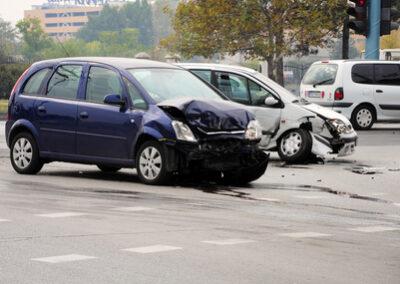 Alleinhaftung des Fahrers wegen Küssen während der Autofahrt möglich