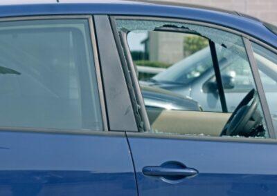 Navigationsgerät über Nacht im Auto